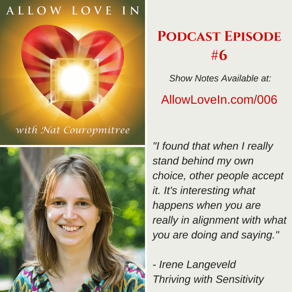 Interview Allow Love In – Thriving with Sensitivity