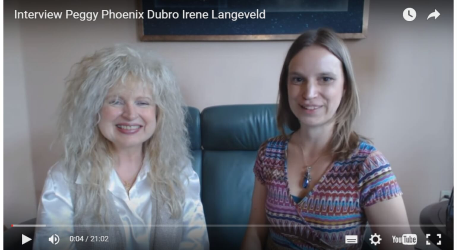 Interview & Energy Exercise from Peggy Phoenix Dubro